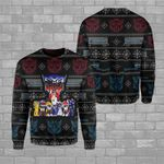 Robot Movies Ugly Sweater HR1709N6