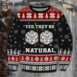 Merry Christmas Legiftstore They Are Natural Sweatshirt DD2609LL1