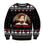 Hello There 3D Printed Sweatshirt SW0310LL1