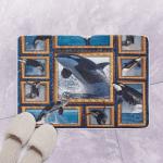 3D Killer Whale C201143VT Bath Math