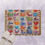 Bird Dance CLM190608 Bath Mat
