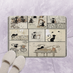 Little Black Cats Go With Everything CLT180643 Bath Mat