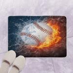 Baseball TL080702 Bath Mat