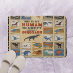 I Am Actually A Dinosaur CLT180632 Bath Mat