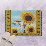 Cat And Sunflower CLP290661 Bath Mat