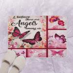 DS Butterflies BI120706B Bath Mat