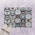 Miniature Schnauzer NN160717 Bath Mat
