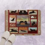 Black Labrador CL130604 Bath Mat
