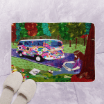 Hippie Bus CL120627 Bath Mat
