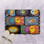 Hippie Hippie Sun And Moon DT2906 Bath Mat