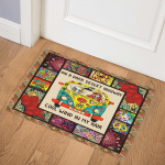 2019071214217 0 DS Hippie NA120701B Door Mat
