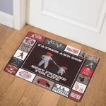 Baseball CLA1010068Q Door Mat