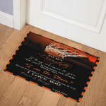 Basketball To My Daughter I Love You(Dad) DHC09111769TD Door Mat