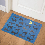 Black Cats CLM2111061 Door Mat