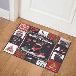 Black Labrador Christmas DHC2511216TD Door Mat