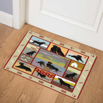 Black Labrador BBB231006NB Door Mat
