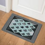 Black Penguins CLH2511014Q Door Mat
