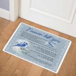 Blue Jay Bird I Never Left You DHC09111682TD Door Mat