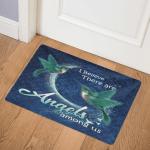 Blue Hummingbird CL07110012MDQ Door Mat