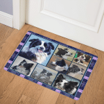 Border Collie TVH161022 Door Mat