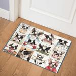 Boston Terrier CLA0810042Q Door Mat