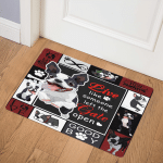 Boston Terrier ABC22101814 Door Mat