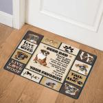 Boxer Dog ABC07111849 Door Mat