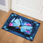 Butterfly Cant Bring Me Down ABC07113666 Door Mat