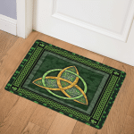 Celtic Shamrock CLA0710197Q Door Mat