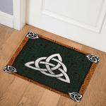 Celtic Trinity Knot CLA2910161Q Door Mat