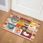Chicken Chilling With Them TD21110748 Door Mat