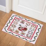 Christmas Santa CLA1710105Q Door Mat