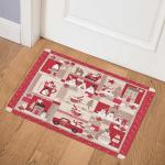 Christmas Snowman CLA1810147Q Door Mat