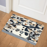 Christmas Snowman HD1511008Q Door Mat