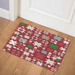Christmas Star CLM0111085 Door Mat