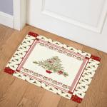 Christmas Tree CLA1810157Q Door Mat