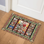 Christmas Cats B171013 Door Mat