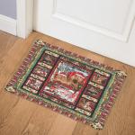 Christmas Cocker Spaniel B171014 Door Mat