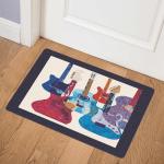 Colorful Bass Guitar CLT2011052H Door Mat