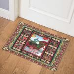 Christmas Dachshund B171015 Door Mat