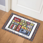 Cut And Sewing Quilter CLT1111061H Door Mat
