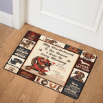 Dachshund Dog ABC07112539 Door Mat