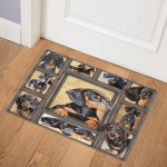 Dachshund Dog ABC07113707 (2) Door Mat