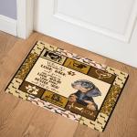 Dachshund Dog ABC07113853 Door Mat