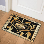 Daddy And Daughter ABC24106547 Door Mat
