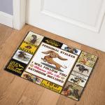 Dachshund Dog ABC07112110 Door Mat
