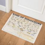 Dinosaur Kinds Of Dinosaurs CL16110429MDQ Door Mat