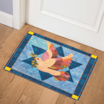 Dove Star Of David CLM0910070 Door Mat