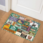 Drop It Like A Sloth TH2506 Door Mat