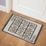 Flower CLA1710196Q Door Mat